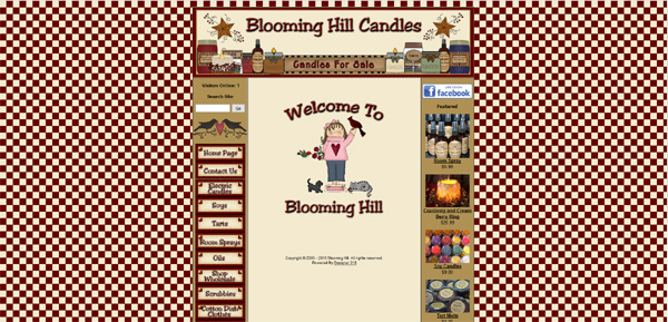 Blooming Hill Candles