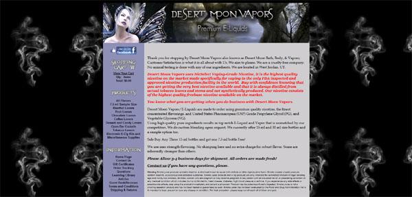 Desert Moon Vapors