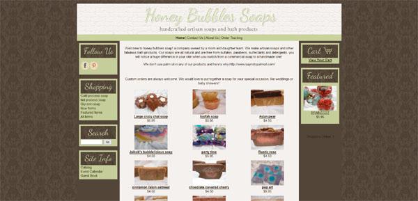 Honey Bubbles Soap