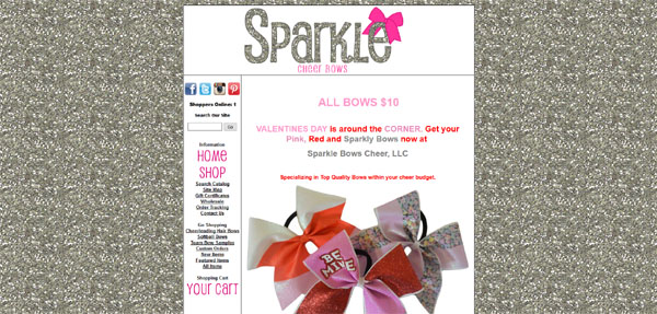 Sparkle Bows Cheer