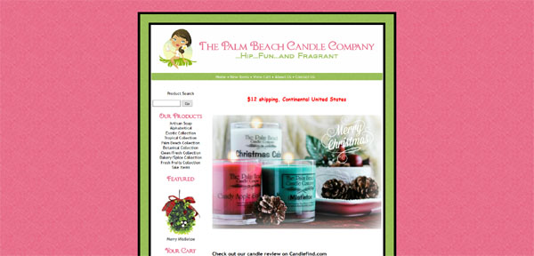 The Palm Beach Candle Co.