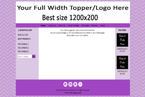 Purple FullWidth Top Featured