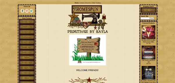 Homespun Primitives by Kayla
