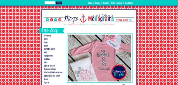 Megs Monograms and More
